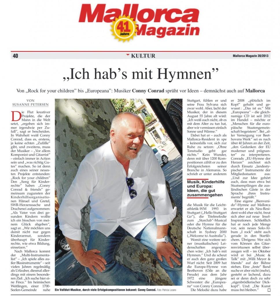 Mallorca Magazin 05/2013