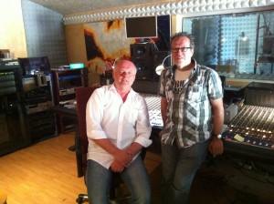 Conny Conrad bei Willi Meyer im Studio auf Mallorca