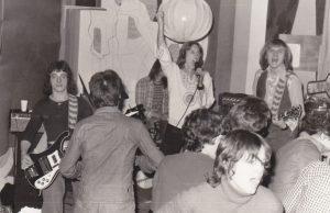 BLACK LADY 1977: v.l.n.r.: Andy Schupp, Eduard Barnowsky, Ralf Häffner, Conny Conrad