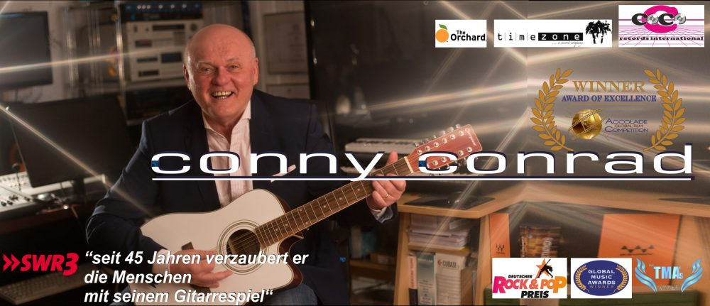 CONNY CONRAD – over 45 years on stage!